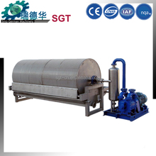 Stainless steel advanced technology rotary vacuum drum filter for starch processing line