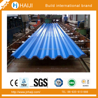 Color Coated corrugated Steel sheet for mading container house