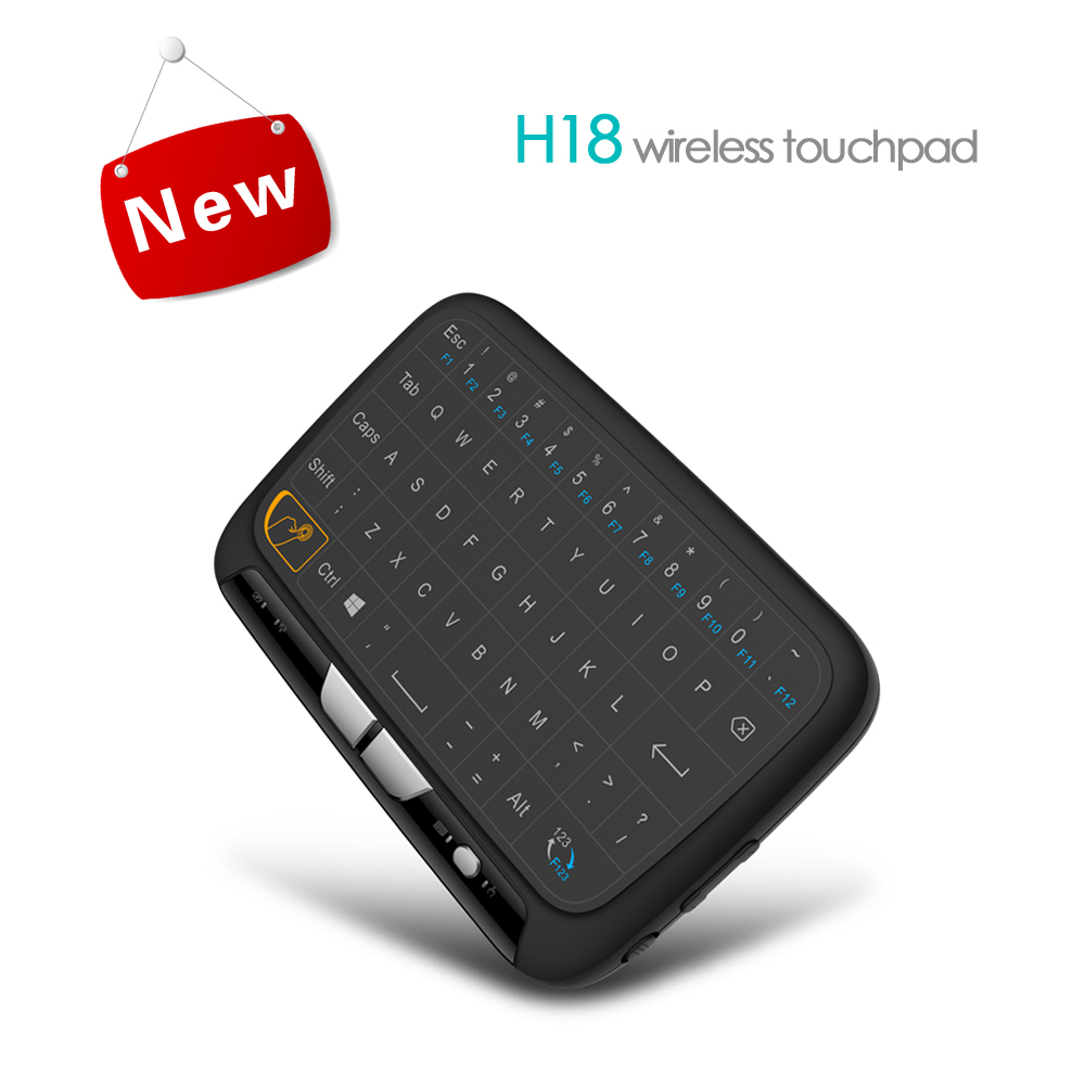 2017 More Popular H18 Air Mouse for Android TV 2.4G Wireless Keyboard Remote Control