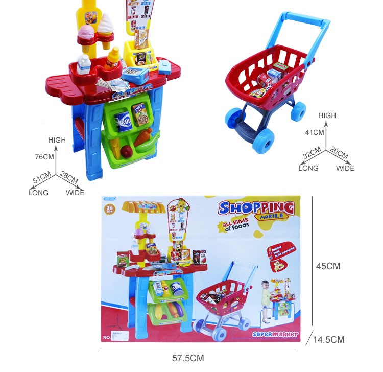 Happy House Children Kitchen Toys Cheap Plastic Kids Kitchen Set Toy