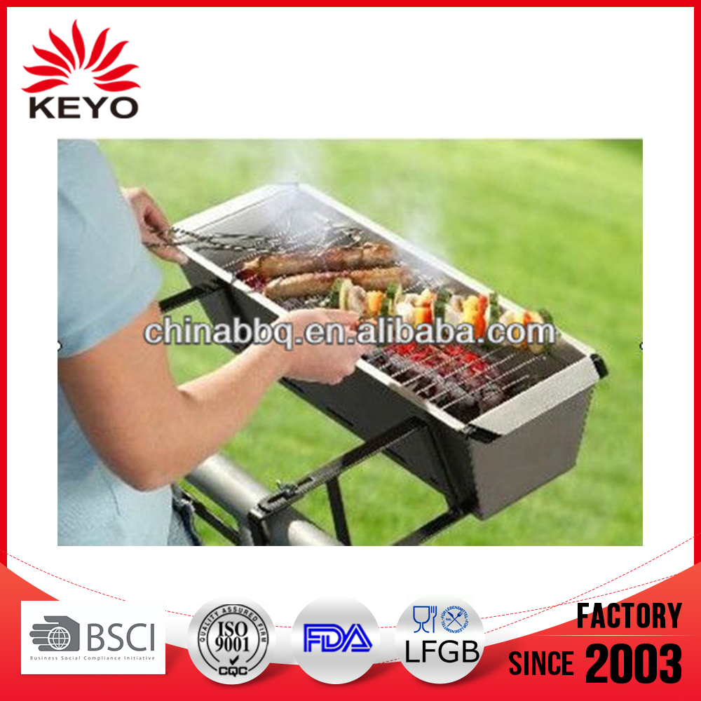 High Quality portable stainless steel Balcony hanging charcoal barbecue Grills Designs bbq Grill For Balcony or Window