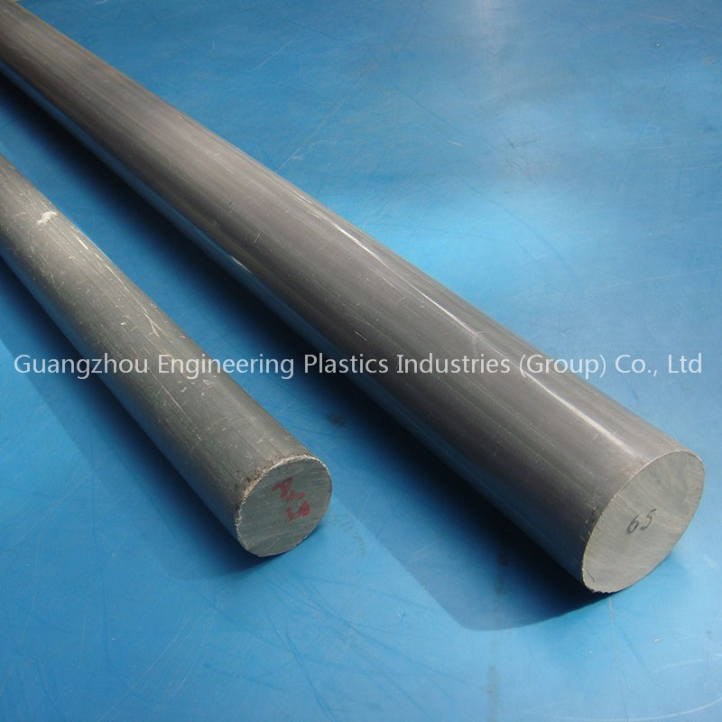 Impact-resistant hard PVC poly round bar customized plastic PVC rod