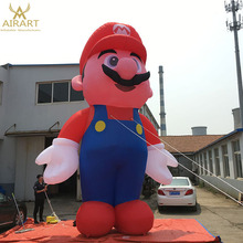 Inflatable Super Mario Bros cartoon, giant inflatable character cartoon