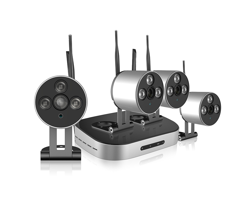 New Arrvial WIFI CCTV Camera System 4CH NVR KIT