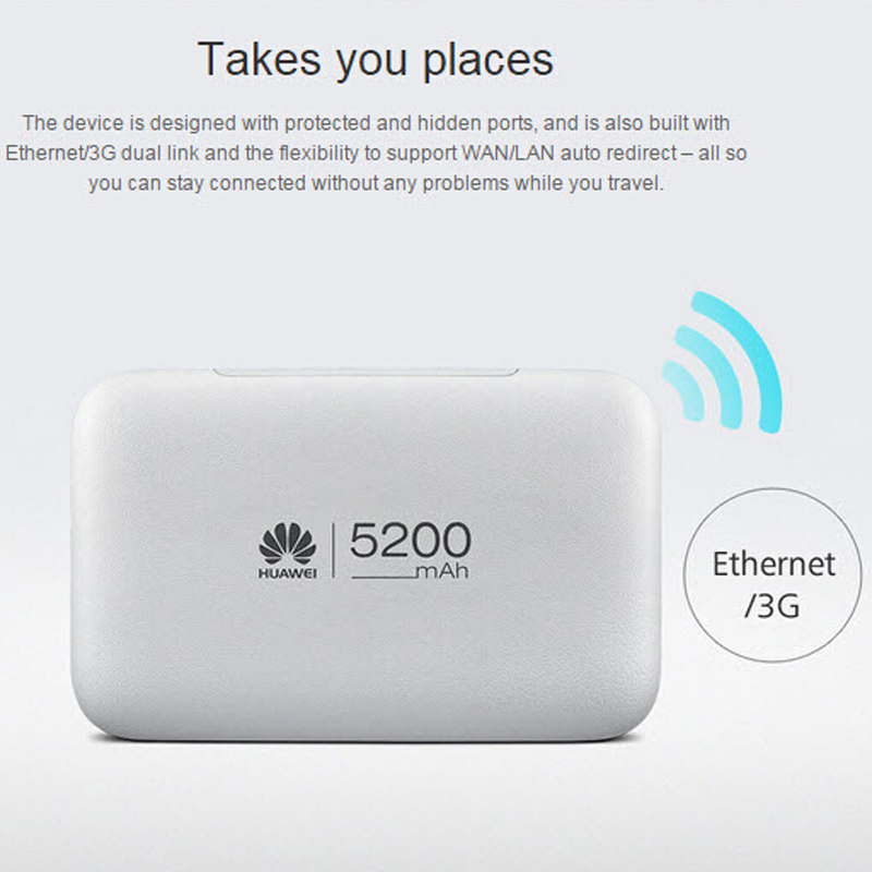Original New Unlock E5770 Portable 150Mbps Wireless 4G Router With RJ45 Port USB Port And Power Bank Function