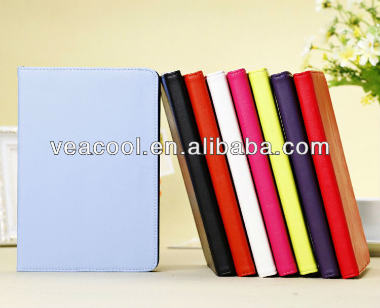 "Shine Leather Flip Cover Case Skin For Apple Ipad MINI 7""tablet"