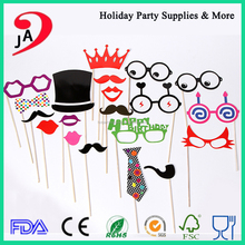 China Manufacturer Party Supplies Mustache Children Funny Photo Props