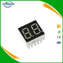 10Pin common anode Highlight Red 2 Digit Numeric LED Display 0.36 Inch