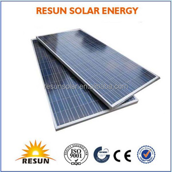 RS6F-P Series 195W-220W Poly Solar Panel Price Used in on-grid or off-grid