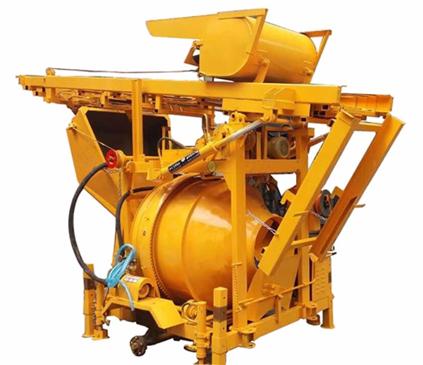 2016 New Designed Low Price Continuous Concrete Mixer