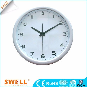 RC analog numeric clock theme wall clock