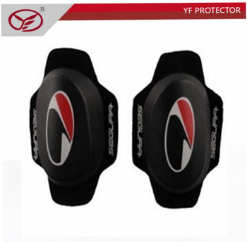 Motorcross Racing Riding Safety Protector Removable Velcro Knee Sliders