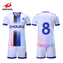 wholesale blank custom futbol soccer set team clothes uniform football training football shirt maker soccer jersey