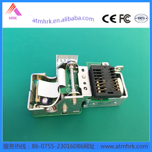 IC sankyo-3Q8 NCR Card reader with ATM machine parts