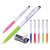 China fancy stationery cute metal clip pen twist action pen with ballpoint pen wholesale
