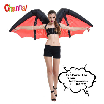 sexy Women inflatable vampire costume Halloween party costume