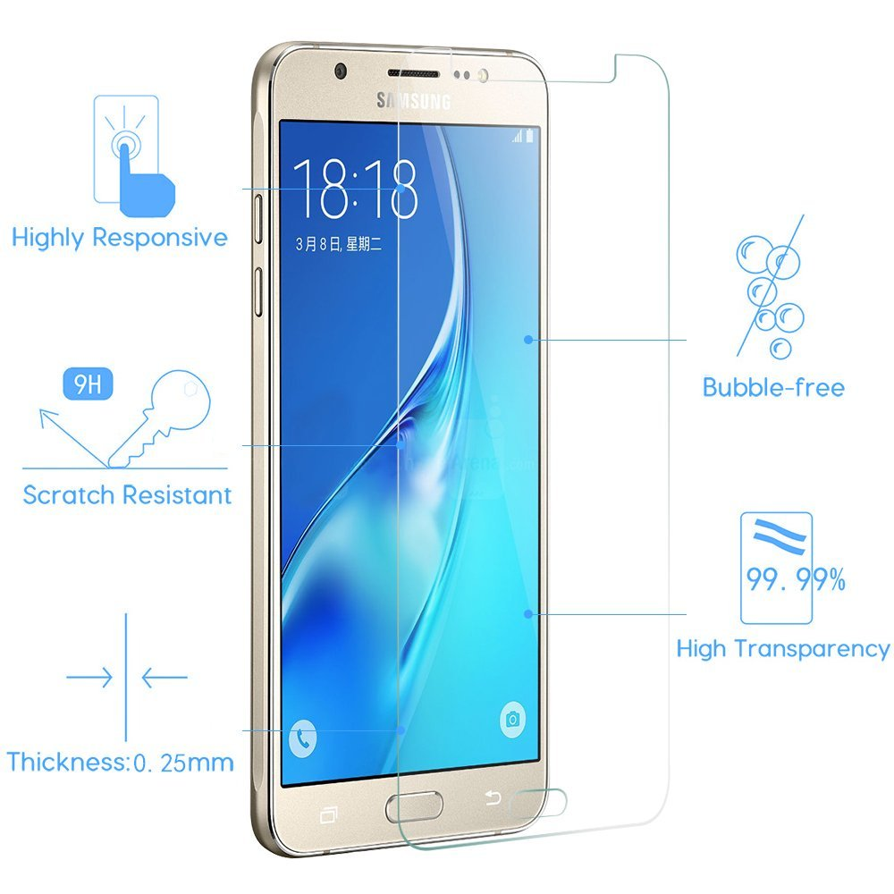 Explosion Proof 9H Hardness Tempered Glass Film Screen Protector Protective Guard Glass For samsung galaxy j7 screen