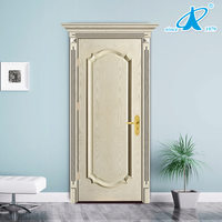 Modern Cheap Solid Wood Bedroom Interior Door Design