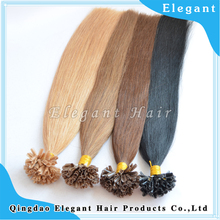 unprocessed virgin brazilian hair wholesale price keratin fusion tip 100% remy human hair extension