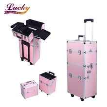 hairdressing tool case Vanity Case Trolley Beauty Cosmetic Box Makeup Nail Art case
