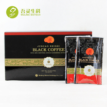 Free Samples Private Label with Ganoderma Extract Lingzhi Reishi Mushroom Coffee