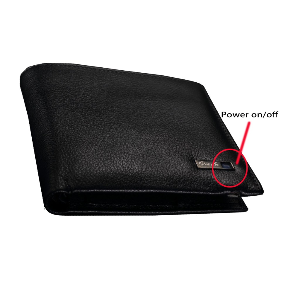 Luxury leather wallet antitheft Men Mini Wallet saffiano leather card holder