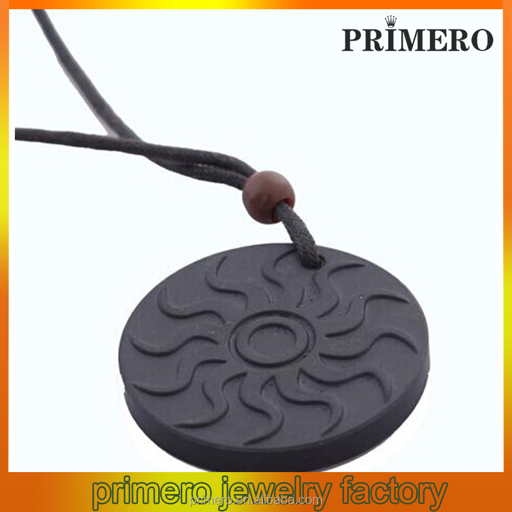 PRIMERO Natural volcanic rock energy radiation anti-fatigue health care pendant anti radiation pendant
