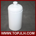 OEM custom photo printed seal pots blank ceramic storage cans