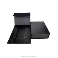 Customised Matte Black Folding Paper Craft