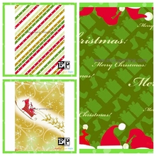 colorful printing Christmas Wrapping Paper for thanksgiving day