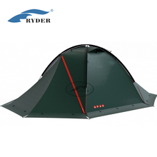 2 Person Custom Two Door Round Travelling Hexagon Dome Camping Tent