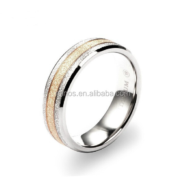 Titanium magnetic ring magnetic health ring finger ring