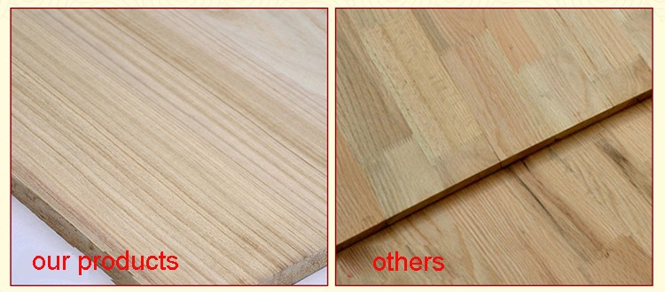 manufacturer paulownia edge glued breaking solid timber panel board