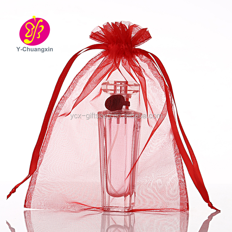 Drawstring Organza Pouch Strong Wedding Favor Gift Candy Bag