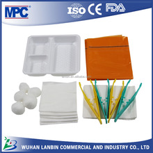China OEM medical dressing pack sterile cheap sports first-aid kit