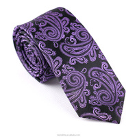 Tailor Smith Factory Wholesale Men's Professional Paisley Necktie Manufacture