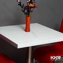 Coffee shop tables and chairs one person dining table artificial stone table top