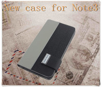 New Product Hot selling wallet leather case for note 3 with credit card holder for galaxy note3 case