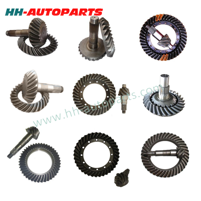 Hot Sale F750 Ratio 6x43 for LEYLAND/EATON Spiral Bevel Gear Crown Wheel and Pinion