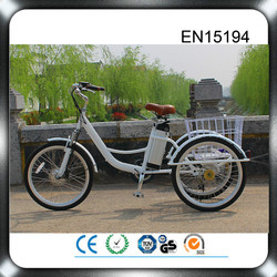 2015 direct factory supply 48v 500w electric adult tricycle