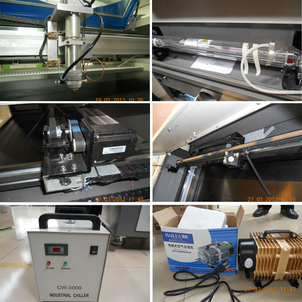 SM1325M Sheet Metal,Plexiglass,MDF,Wood,Acrylic Laser Cutting Machine Price 1300X2500mm