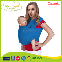 BCW-04B European baby products top quality baby sling stretchy wrap carrier wholesale