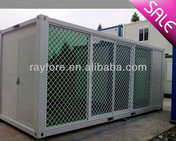 20ft CE certification container house with big glass window