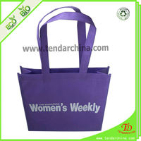 Reusable Non Woven Fabric Shopping Carry Bags With Logo