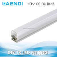 Commercial and office 600mm lighting fixture t8 fluorescent batten fitting