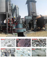 2-8 rollers grinding roller mill calcium carbonate pulverizer with dust collector