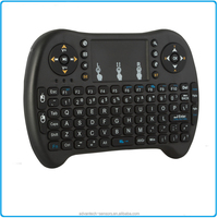 Updated 2017 Backlight Rii i8+ 2.4GHz Mini Wireless Keyboard with Touchpad Mouse, LED Backlit, Rechargable Li-ion Battery