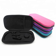 Professional custom portable travel doctor stethoscope eva hard case with zipper