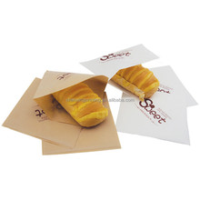 Wholesale Square Greaseproof Paper French Fry Bags