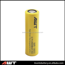Good Performance for Aweite 18650 2500mah 35amp battery makita 14.4v battery